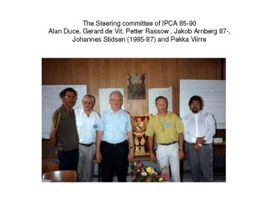 The Steering Comittee of IPCA 85-90